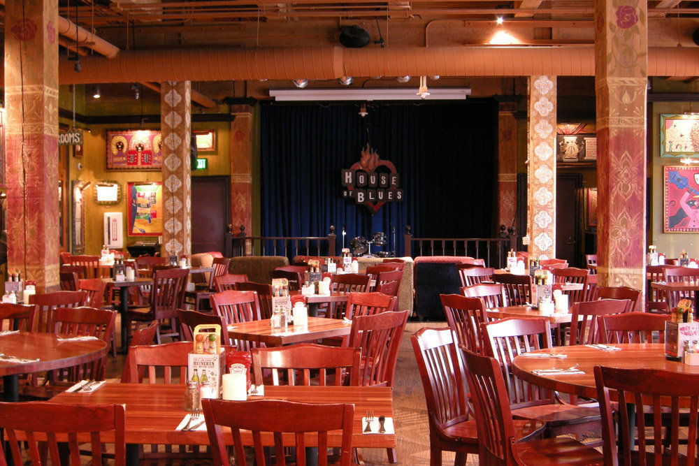 House Of Blues Restaurant Locations